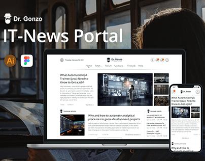 IT News Portal Dr. Gonzo