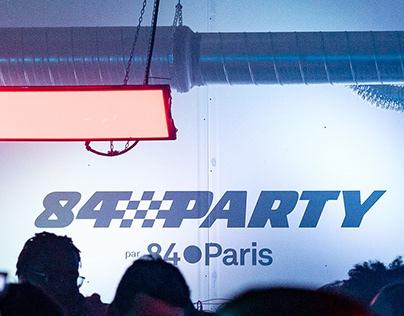 OK cosmos! 90° - 84 Party par 84.Paris