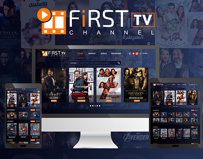UI UX Design for channel tv movie, series and program