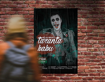 Theater Poster & Postcards // Taranta Babu