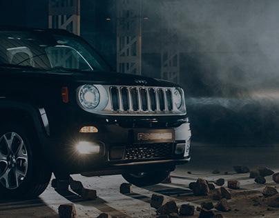 Jeep Renegade Website Design