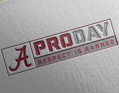 Alabama Pro Day Apparel Logo