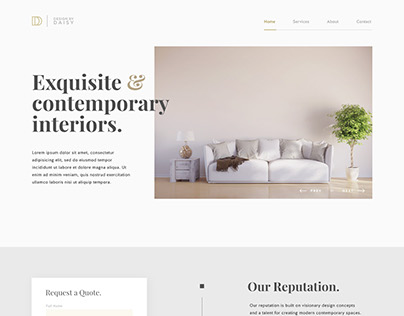 Design by Daisy Website Design