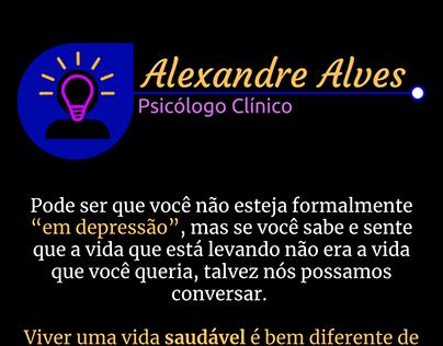 Cartão Interativo - Dr. Alexandre Alves