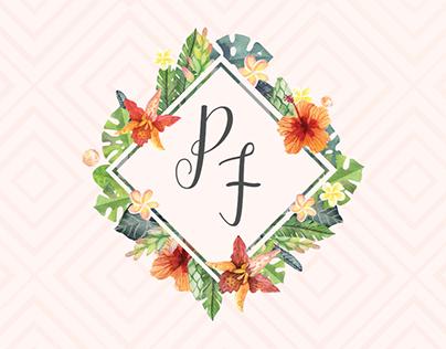 Visual Identity - P+F Wedding