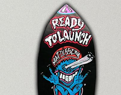Skateboard by @matdisseny Rocket Critter