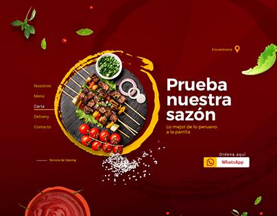 Página web para restaurant