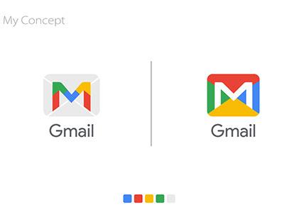 Gmail Logo Redesign Concept