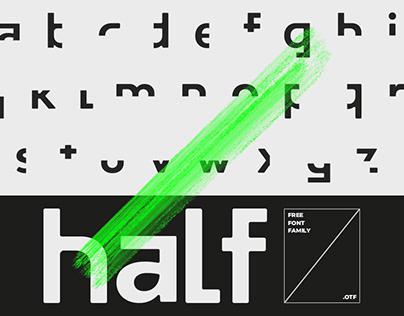 Half | Free Family Font
