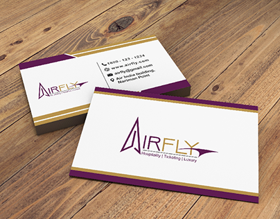 airfly business card