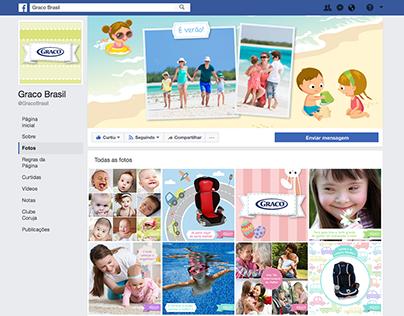 Identidade Visual para Facebook - Graco