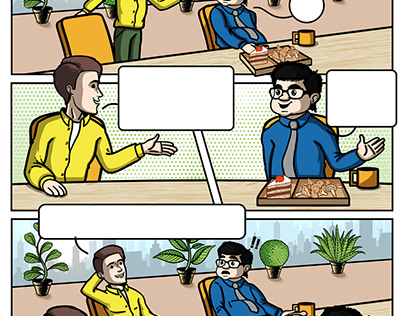 Storyboard Illustrations (by ACT Advertising Agency)