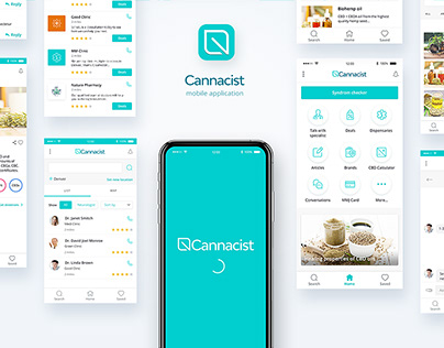 Cannacist - mobile application