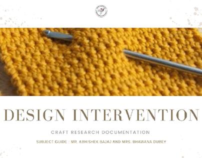 Crochet Craft Cluster   Design Intervention