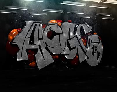 3D Graffiti ACG x TMD x GBAK