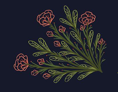 Botanical Illustrations - Family Tree