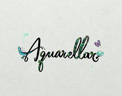 Logo Design - Aquarellar