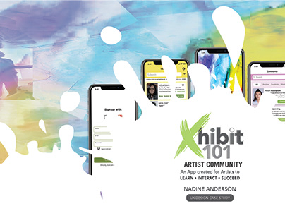 Xhibit101 UX Design Case Study