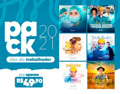 PACK005 | DIA DO TRABALHADOR 2021 (à venda)