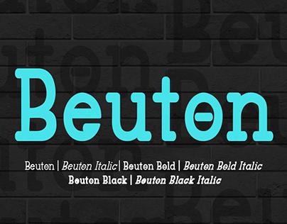 Beuton Sans Serif