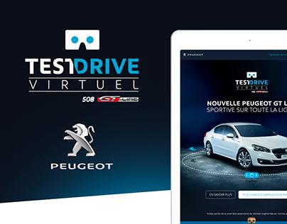 Peugeot 508 GT line | Test Drive Virtuel
