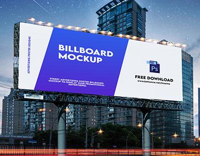 Billboard Mockup Free Download
