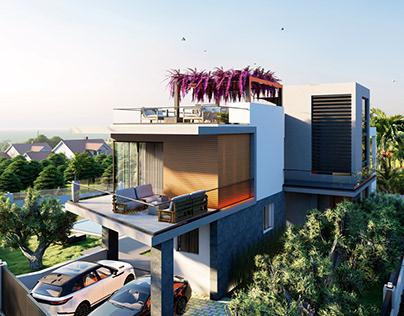 Cyprus Villa Project Animation