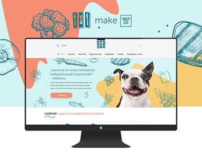 Kutyadiéta web design