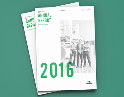 Rapport Annuel 2016 - Cascades