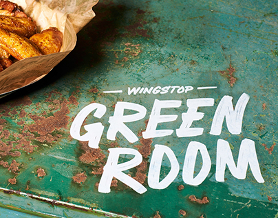 Wingstop: Custom Lettering