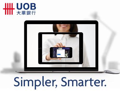 UOB Personal Internet Banking Revamp. Simpler Smarter.