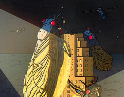 Cincinnati Magazine: Brood X Cicadas are Here