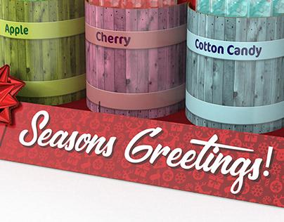 Richardson Holiday Candy Displays