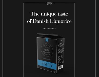 Danish Liquorice Design - School Project