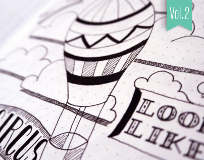 Hand-lettered Sketches – Vol. 2