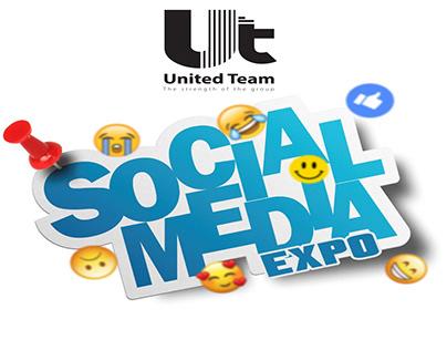 United team Social media Expo