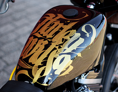 Custom Harley Tank