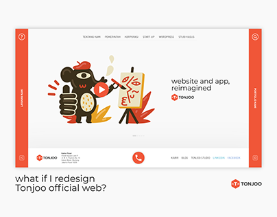 Tonjoo Homepage Redesigned