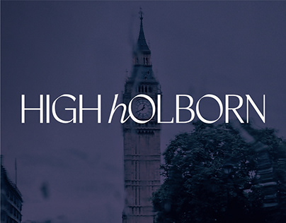 High Holborn Casual Wine Bar Brand Identity
