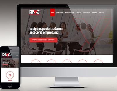 Website RAYC Consultoria