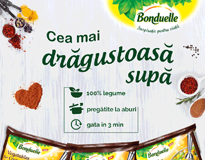 Bonduelle Lovely Soup Mix Campaign