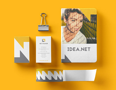 NET.MAKER | corporate design for a student network