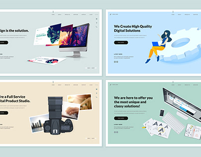 Web page templates