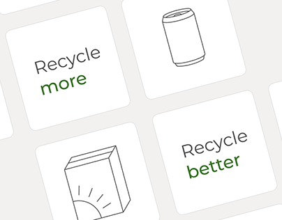 Recycling App Concept