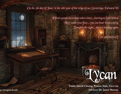 Lycan - An immersive VR experience