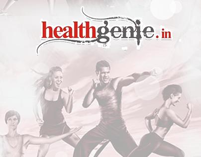 Healthgenie Android native app UX design.