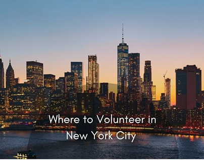 Where To Volunteer in New York City
