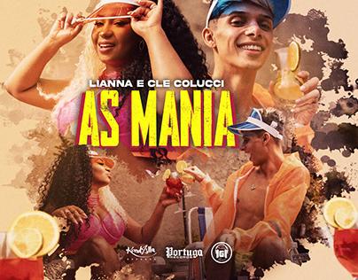 Capa Spotify   Lianna e Cle Colucci - As Mania