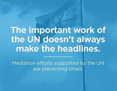 UN Social Media Branding