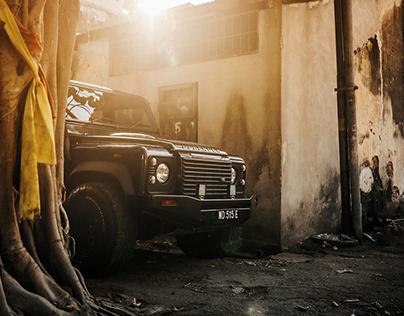 Land Rover Defender in Georgetown, Penang